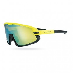 GIST NEXT - Occhiale da ciclismo Matt Fluo Yellow – Polish Black