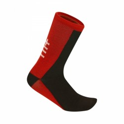 Zerorh+ Vertex 20 Sock Black/Red/White - Calzini invernali