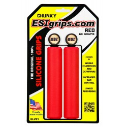 ESIgrips Chunky Red - manopole in silicone 60g