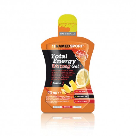 Named Sport Total Energy Strong Gel - Gel energetico 40 ml