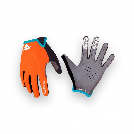BLUEGRASS MAGNETE LITE Orange Cyan - Guanti MTB
