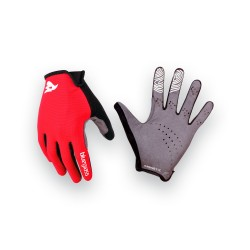 BLUEGRASS MAGNETE LITE Red Black - Guanti MTB
