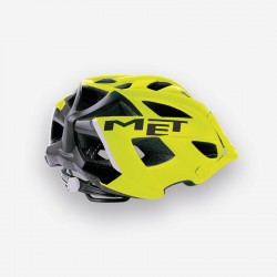 MET TERRA Safety Yellow Black Matt - Casco MTB 2018