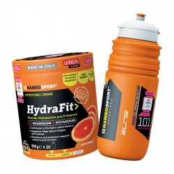 Named  Sport HydraFit - Barattolo 400g + Giro 101 Edition ELITE Sport Bottle